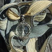 """Украшения ручной работы. Ярмарка Мастеров - ручная работа Кулон на шелковой ленте """"Ветер весны"""". Handmade."""