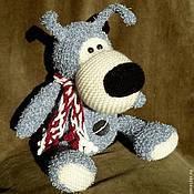 Куклы и игрушки ручной работы. Ярмарка Мастеров - ручная работа собачка Буффи. Handmade.