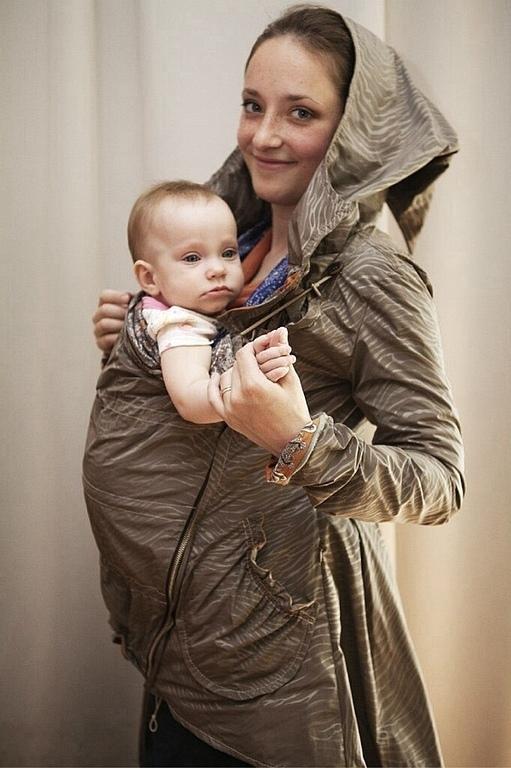 Слингоодежда ручной работы. Ярмарка Мастеров - ручная работа. Купить Лесная эльфийская парка для ношения в слинге и во время беременности. Handmade.