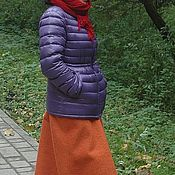 Одежда ручной работы. Ярмарка Мастеров - ручная работа Юбка из толстой шерсти Зимняя юбка-домик. Handmade.
