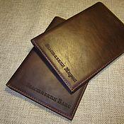 Сумки и аксессуары handmade. Livemaster - original item Cover for birth certificate, marriage certificate.. Handmade.