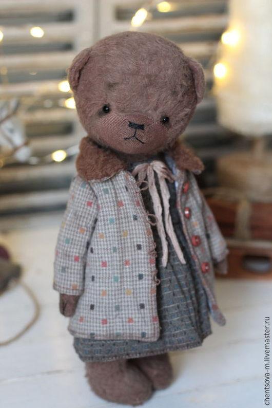Мишки Тедди ручной работы. Ярмарка Мастеров - ручная работа. Купить Маруся. Handmade. Мишка тедди, мишка девочка