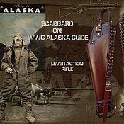 Классическая сумка ручной работы. Ярмарка Мастеров - ручная работа Скаббард(чехол) для винтовки WWG Alaska guide. Handmade.