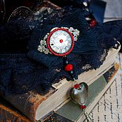 """Украшения ручной работы. Ярмарка Мастеров - ручная работа Бархотка """" Heart of Lilith"""". Handmade."""