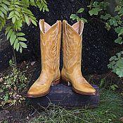 Обувь ручной работы handmade. Livemaster - original item Women`s Handmade Cowboy Boots.. Handmade.