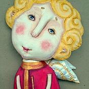 """Куклы и игрушки ручной работы. Ярмарка Мастеров - ручная работа текстильная грунтованная кукла """"Ангел №3"""". Handmade."""