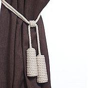 Материалы для творчества handmade. Livemaster - original item Tiebacks Cone. Handmade.
