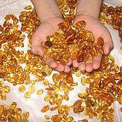 Материалы для творчества ручной работы. Ярмарка Мастеров - ручная работа бусины янтарь золото мёд. Handmade.