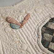 Куклы и игрушки ручной работы. Ярмарка Мастеров - ручная работа Кукольное одеялко. Handmade.