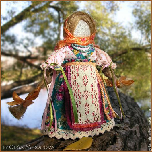 Народные куклы ручной работы. Ярмарка Мастеров - ручная работа. Купить Желанница. Handmade. Желанница, оберег, текстильная кукла, бисер