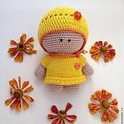 Куклы и игрушки ручной работы. Ярмарка Мастеров - ручная работа Вязаный Пупсик. Handmade.
