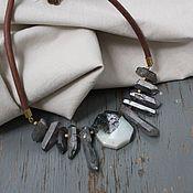 Украшения handmade. Livemaster - original item Necklace choker Wings made of crystal. Handmade.