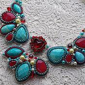Украшения handmade. Livemaster - original item Unreal sunset necklace. Handmade.