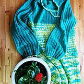 Одежда ручной работы. Ярмарка Мастеров - ручная работа Платье/туника мятная. Handmade.