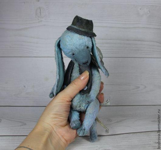 Мишки Тедди ручной работы. Ярмарка Мастеров - ручная работа. Купить Голубой щенок. Handmade. Голубой, ручная работа
