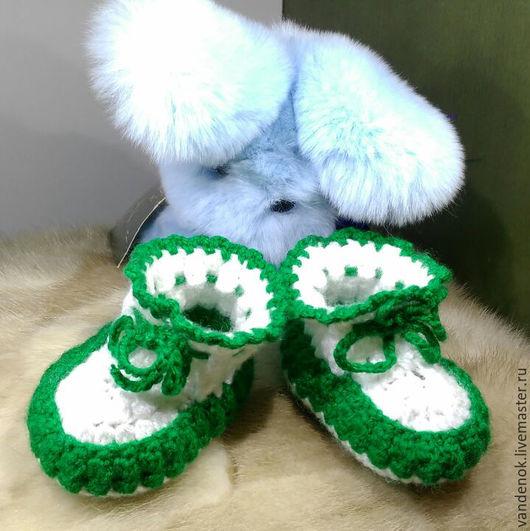 Детская обувь ручной работы. Ярмарка Мастеров - ручная работа. Купить Детские пинеточки. Handmade. Детская одежда, детские