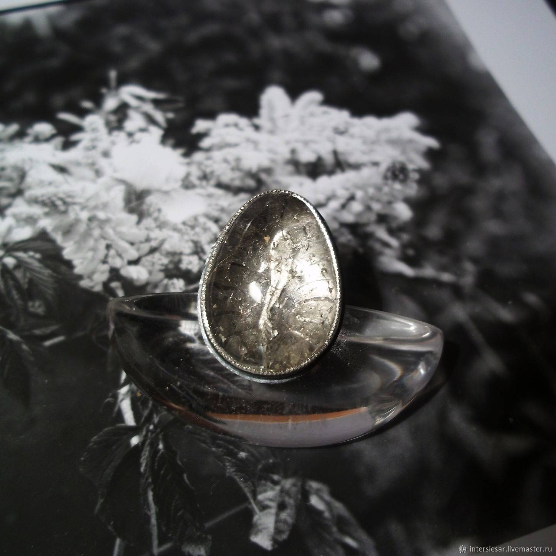 Quartz rutile ring 'Shallow', Rings, Moscow,  Фото №1