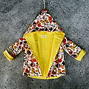 Работы для детей, ручной работы. Ярмарка Мастеров - ручная работа Куртка ветровка. Handmade.