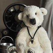 Куклы и игрушки ручной работы. Ярмарка Мастеров - ручная работа Белый Мишка Диксон. Handmade.