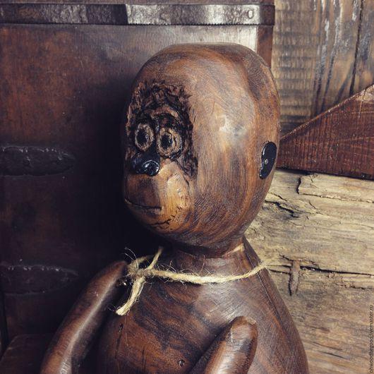 Подарки для мужчин, ручной работы. Ярмарка Мастеров - ручная работа. Купить Обезьяна Гренка/ авторская кукла из дерева/ подарок с душой. Handmade.