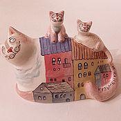 Сувениры и подарки handmade. Livemaster - original item Ceramic sculpture