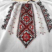 Одежда ручной работы. Ярмарка Мастеров - ручная работа Вышиванка на женщину 18. Handmade.