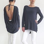Одежда handmade. Livemaster - original item Autumn tunic long sleeve FALL UGENNA. Handmade.