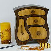 Для дома и интерьера ручной работы. Ярмарка Мастеров - ручная работа Комодик с крючечками. Handmade.