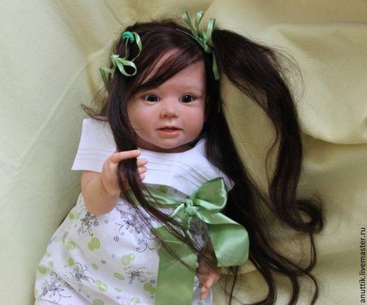 Куклы-младенцы и reborn ручной работы. Ярмарка Мастеров - ручная работа. Купить Малышка. Handmade. Бежевый, Бонни, винилл