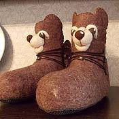Обувь ручной работы. Ярмарка Мастеров - ручная работа Мишки. Handmade.