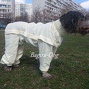 Для домашних животных, ручной работы. Ярмарка Мастеров - ручная работа Пыльники для охотничьих собак, комбинезоны от клещей. Handmade.