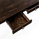 Мебель ручной работы. Ярмарка Мастеров - ручная работа. Купить Письменный стол из дерева. Handmade. Коричневый, старина, письменный стол
