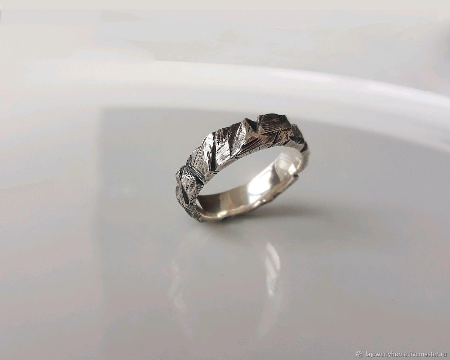 """Серебряное кольцо """"Камень"""". Мужское кольцо, женское кольцо, Кольца, Краснодар,  Фото №1"""