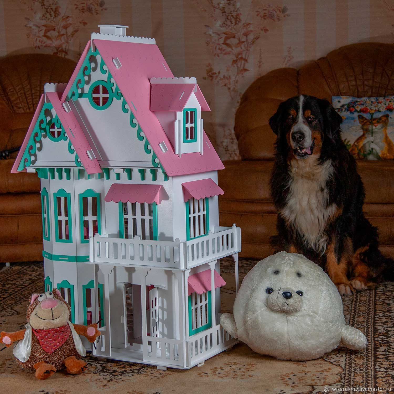 Домик с верандой, Кукольные домики, Пятигорск,  Фото №1