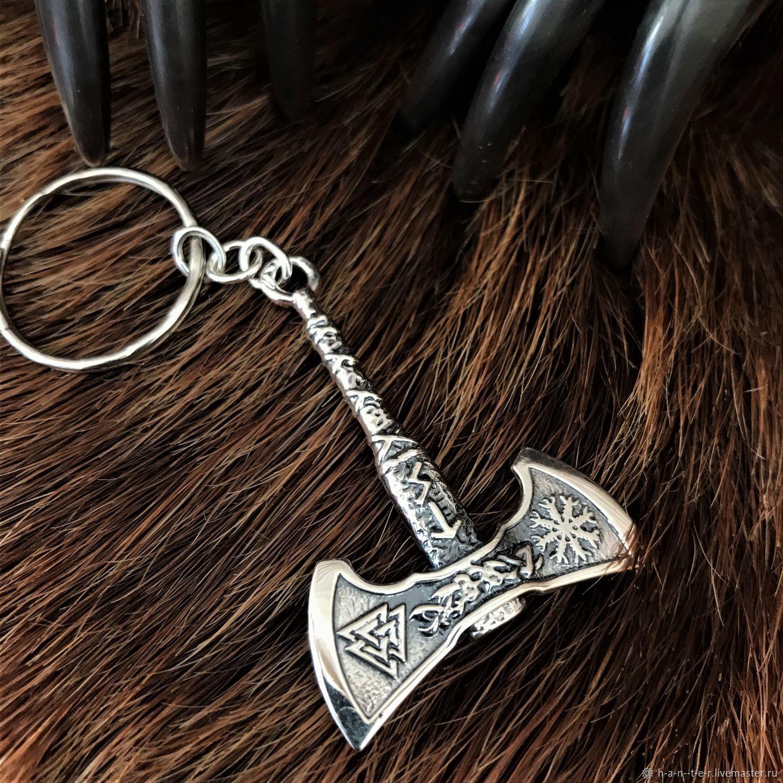 Keyring axe, Pendants, Kostroma,  Фото №1
