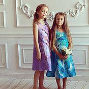 """Работы для детей, ручной работы. Ярмарка Мастеров - ручная работа Валяное платье для девочки """"Юная Леди"""". Handmade."""