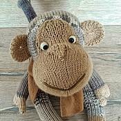 """Куклы и игрушки ручной работы. Ярмарка Мастеров - ручная работа Вязаная обезьянка"""" Лариска"""". Handmade."""