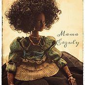 Портретная кукла ручной работы. Ярмарка Мастеров - ручная работа Портретная кукла: Госпожа Эрзули. Handmade.