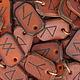 Кулоны, подвески ручной работы. Ярмарка Мастеров - ручная работа. Купить Скандинавские руны. Handmade. Скандинавские руны, руны из кожи