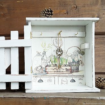 For home and interior handmade. Livemaster - original item The housekeeper rustic. Handmade.