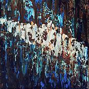 """Картины и панно ручной работы. Ярмарка Мастеров - ручная работа Картина маслом """"Магия цвета"""". Handmade."""