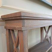 Для дома и интерьера handmade. Livemaster - original item 3681 Table console oak (sh2100h v750h g250). Handmade.