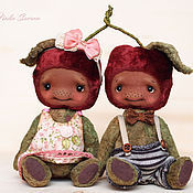 Куклы и игрушки ручной работы. Ярмарка Мастеров - ручная работа Вишенки. Handmade.