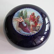 handmade. Livemaster - original item 1900-1918.g. BOX Austria Porcelain Cobalt Brand. Handmade.