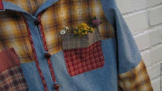 Верхняя одежда ручной работы. Ярмарка Мастеров - ручная работа. Купить Летняя курточка с капюшоном. Женская одежда. Купить женскую одежду.. Handmade.