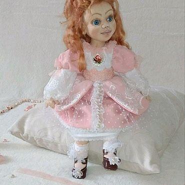 Куклы и игрушки ручной работы. Ярмарка Мастеров - ручная работа Текстильная интерьерная кукла, Каролина. Handmade.