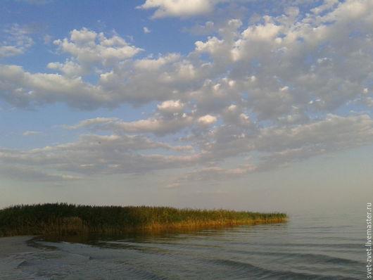 Фотокартина `Море в облаках`