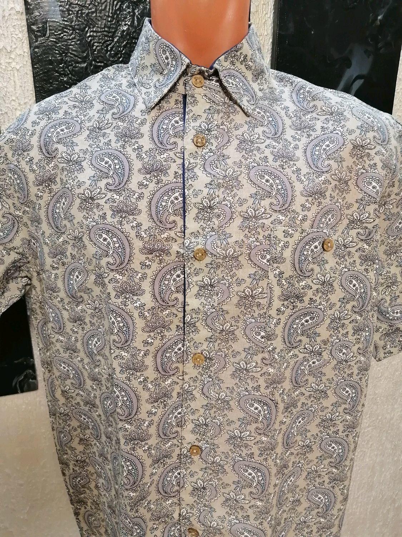 Рубашка лен 100%, Рубашки мужские, Кострома,  Фото №1