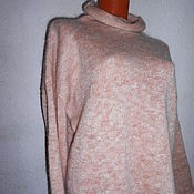 Одежда ручной работы. Ярмарка Мастеров - ручная работа свитерок Свободный пуховый. Handmade.