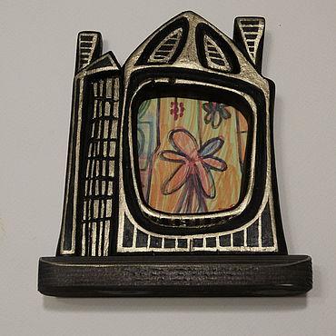 Для дома и интерьера ручной работы. Ярмарка Мастеров - ручная работа Фоторамки: дом для фото. Handmade.
